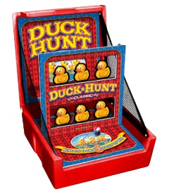 Red Duck Hunt Knockdown Carnival Case Game Without Legs