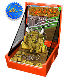 Orange Rope The Bull Carnival Case Game Without Legs