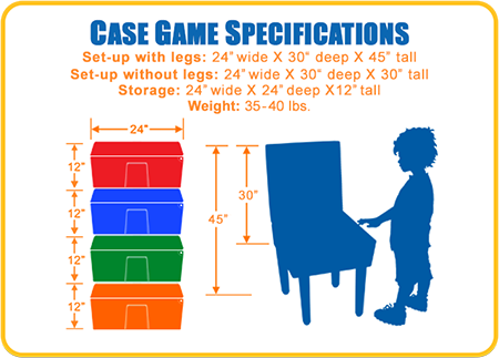 Case Game Dimensions